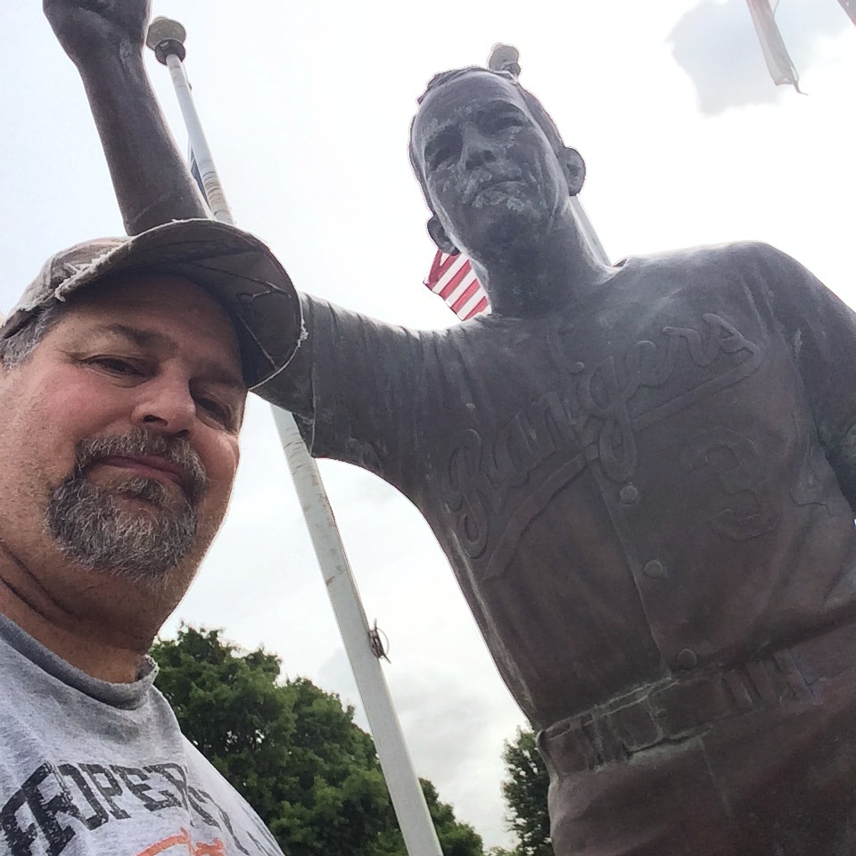 Sumoflam with Nolan Ryan in Alvin, TX