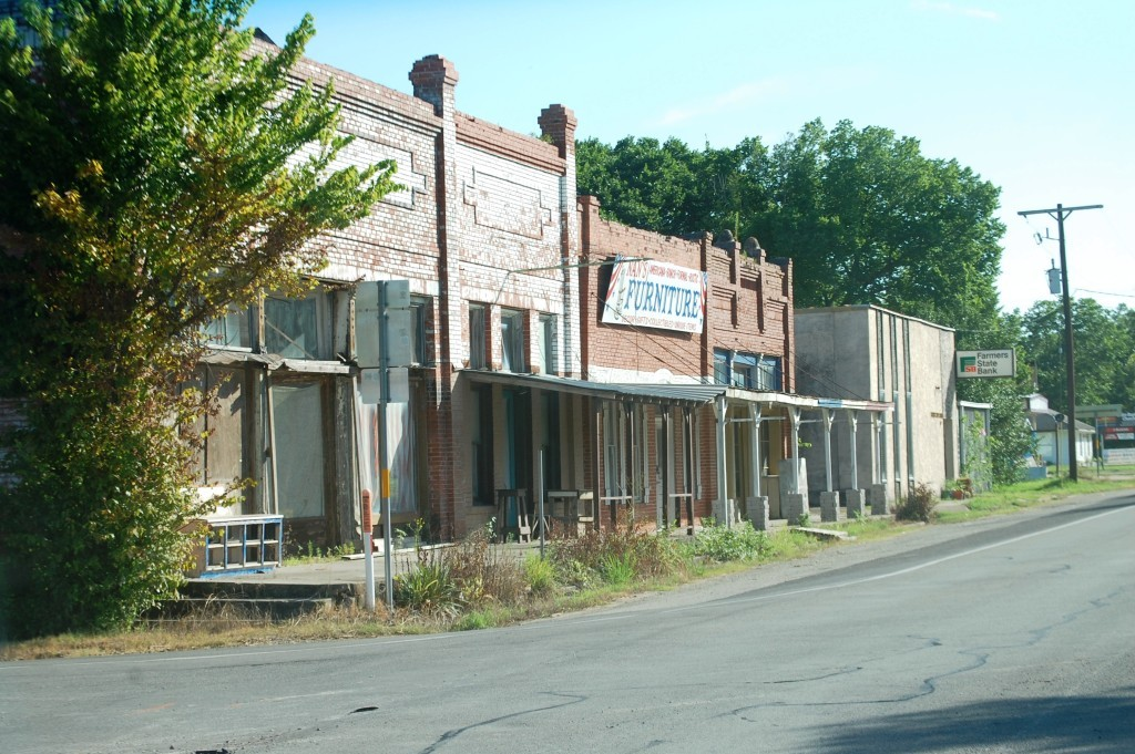 Downtown Shiro, Texas