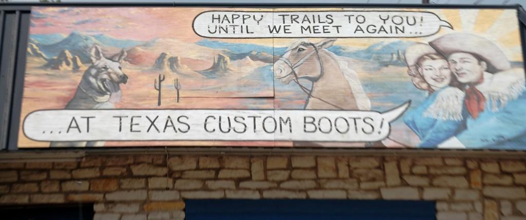 Custom Boots Wall Art