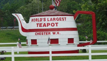 World's Largest Teapot, Chester, WV (2008)