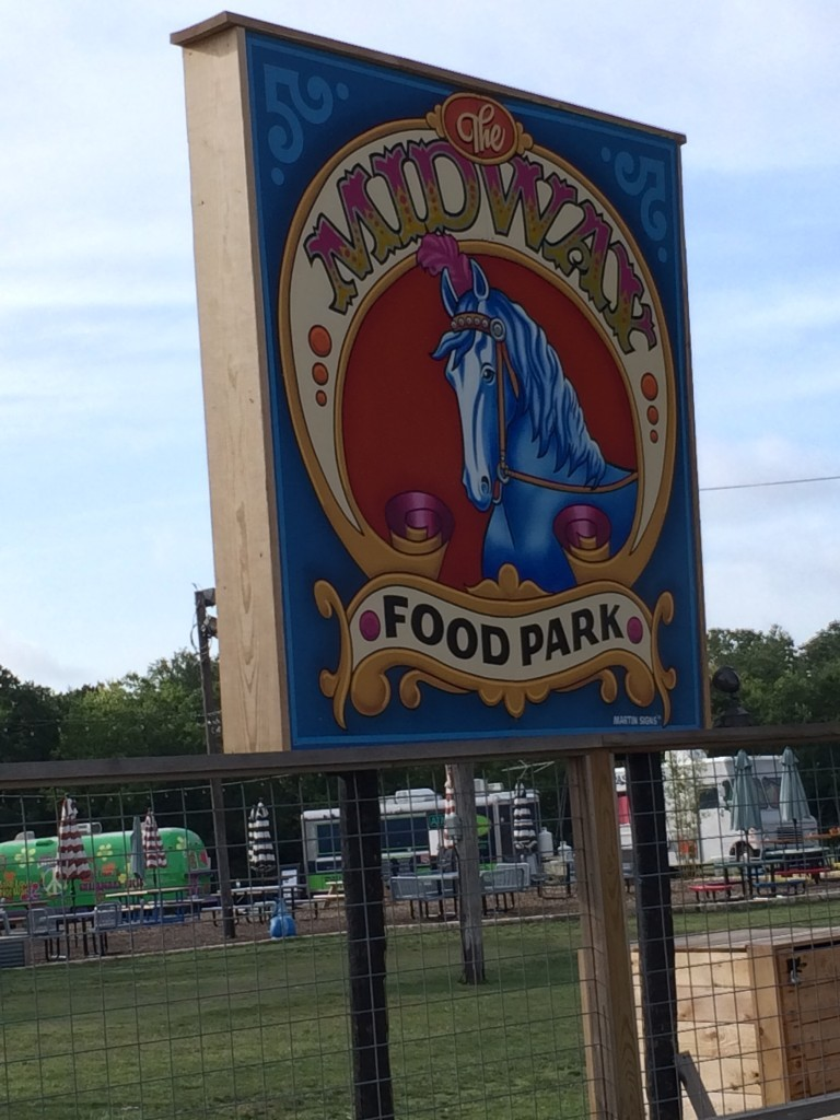 Another one of many food parks in Austin