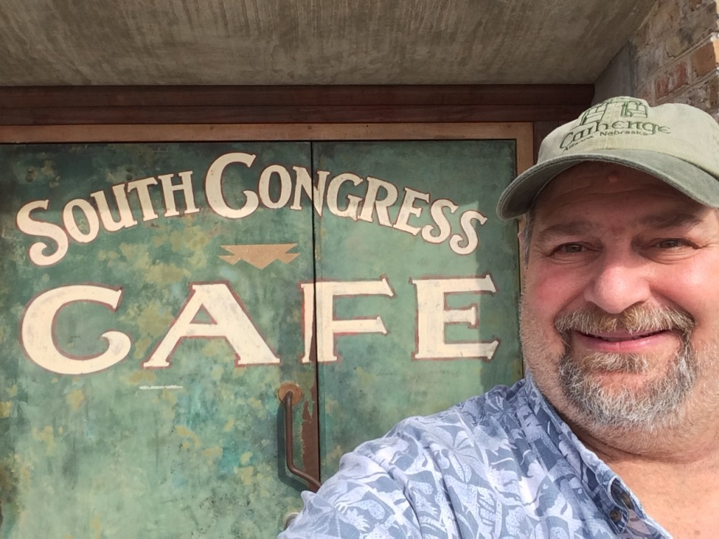 i had breakfast at the South Congress Cafe. It was truly an upscale cafe, if there is such a thing