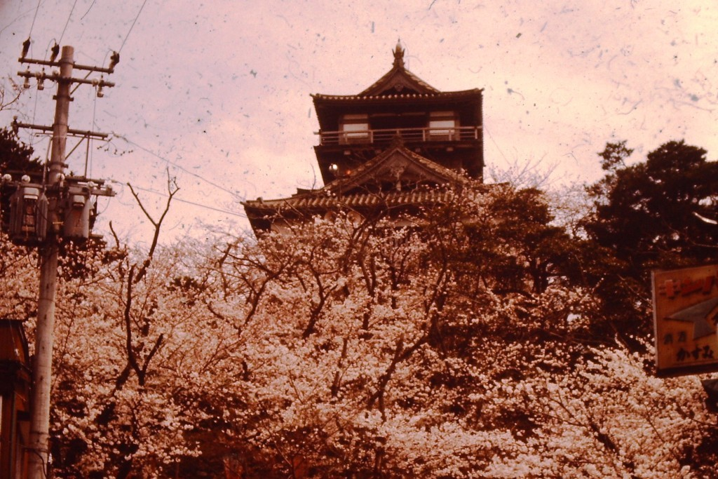 Another view of Gifu Castle (ca 1977)