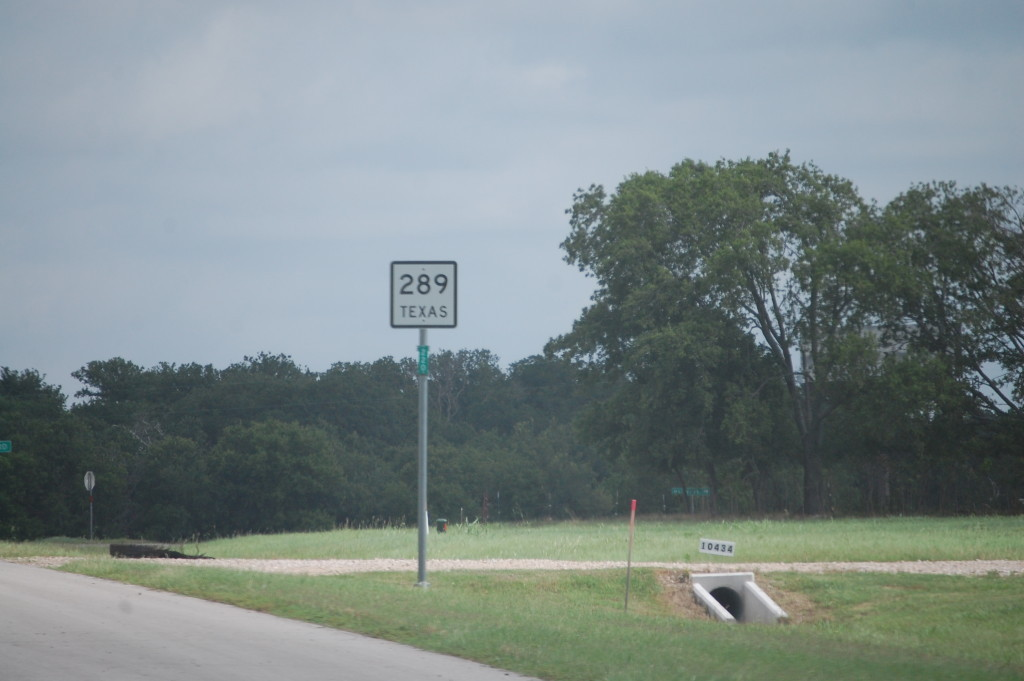 Texas Hwy 289 north out of Prosper