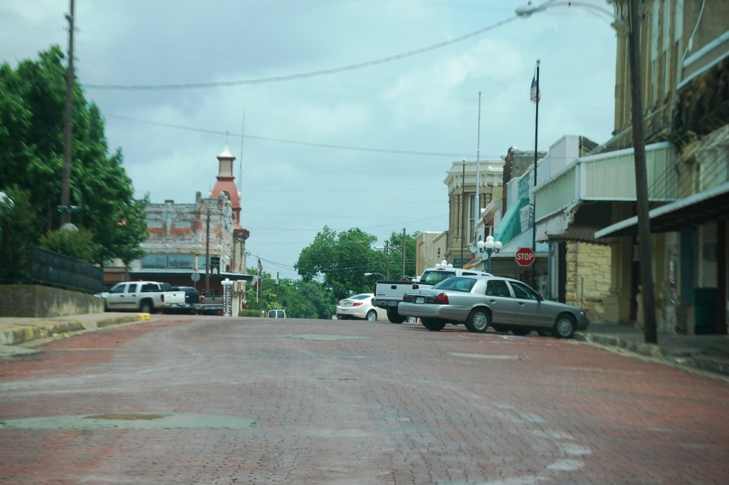Downtown Honey Grove, Texas