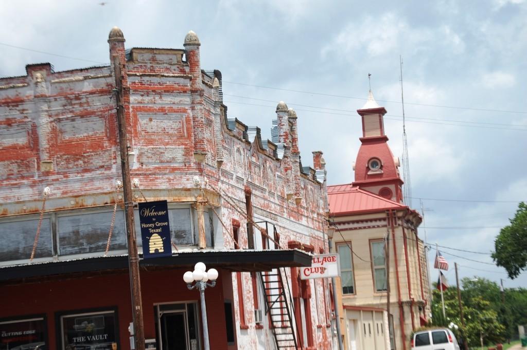 A view of Honey Grove, Texas