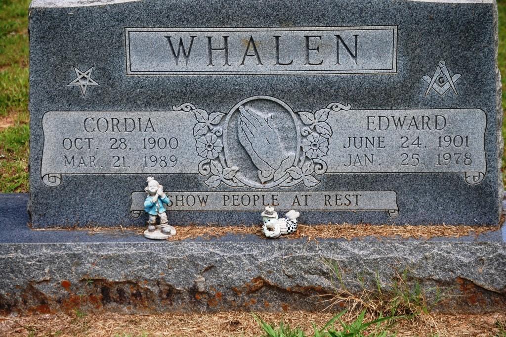 Whalen...with little clowns