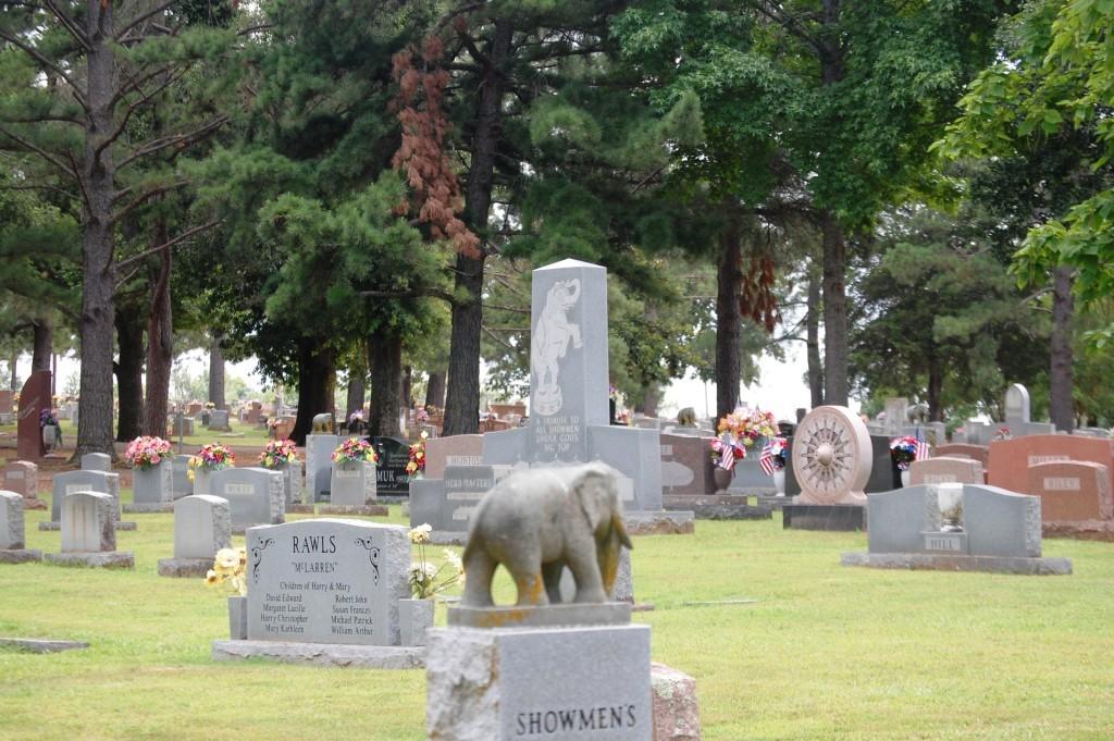 A final view of Showmen's Rest