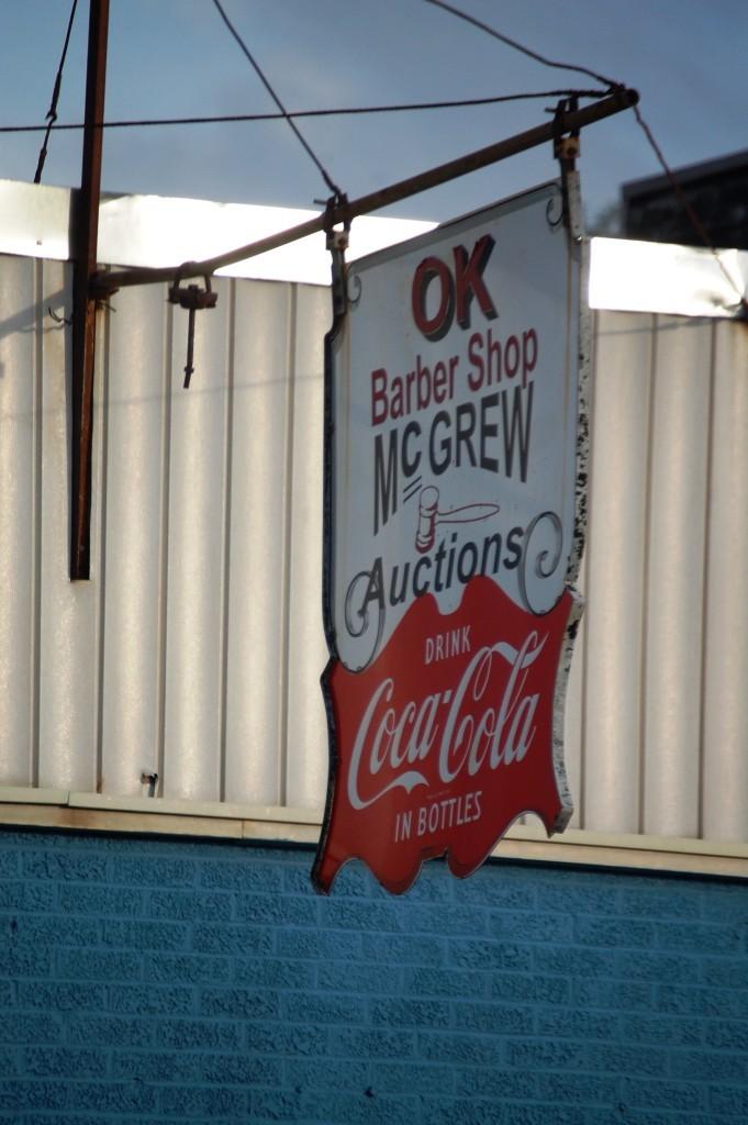 The OK Barber Shop in Glenwood, AR