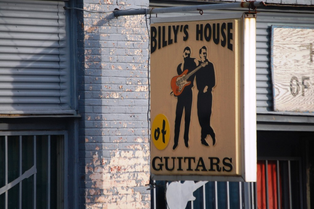 Billy's House of Guitars, Glenwood, AR