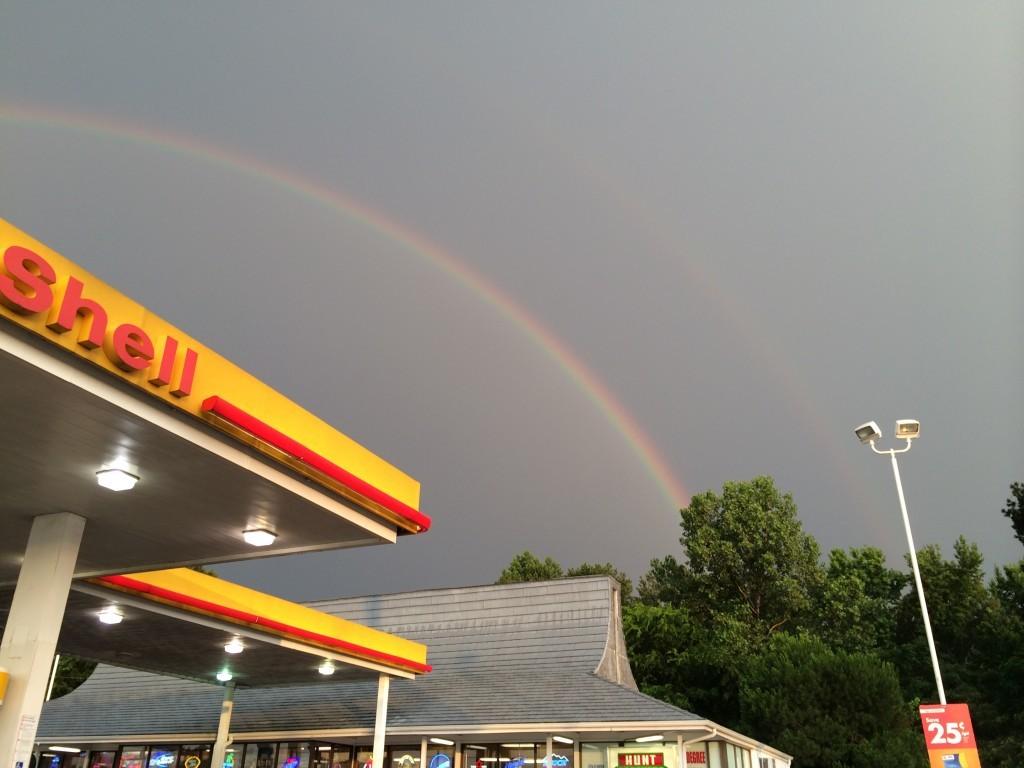 Rainbow in Arkadelphia, AR