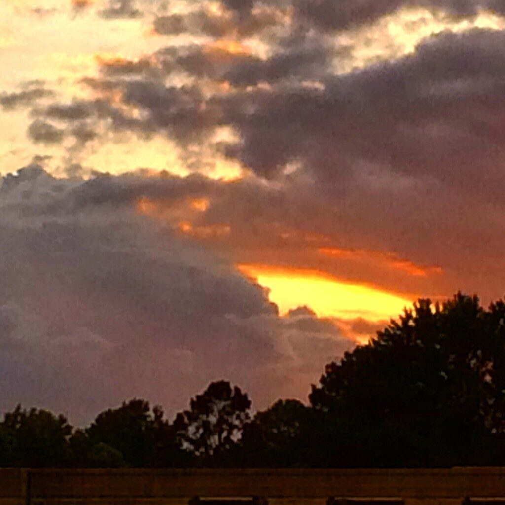 Glowing sunset in Arkadelphia, AR
