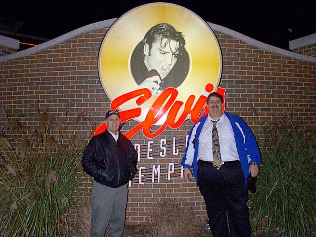 Beale Street in Memphis, TN late 1990s