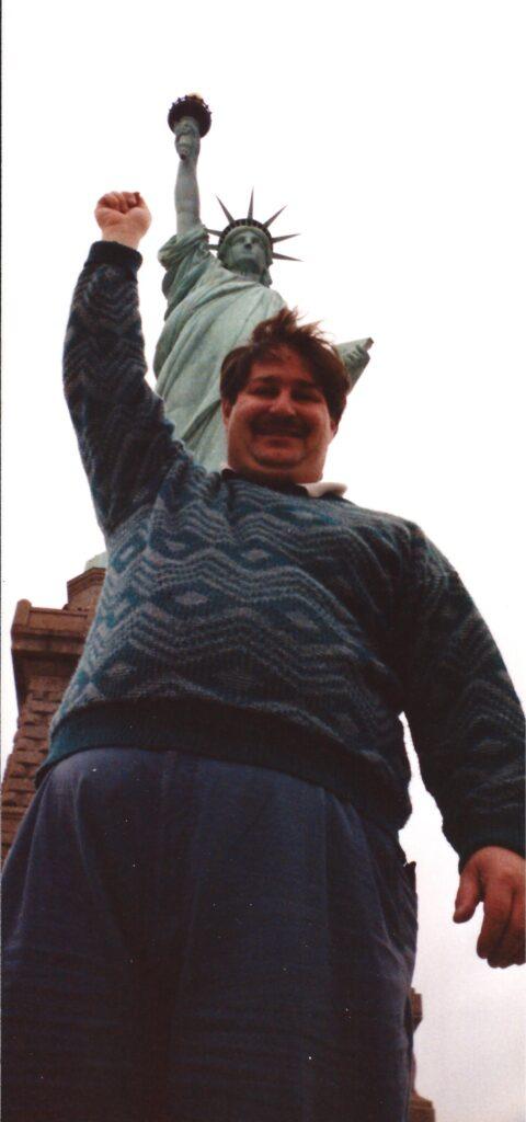 Statue of Liberty, Ellis Island, NY 1990