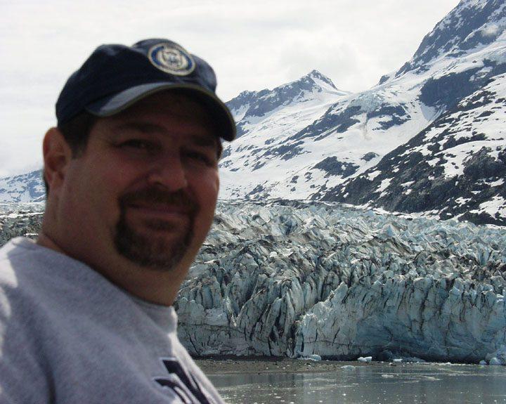 On Glacier Bay in Alaska