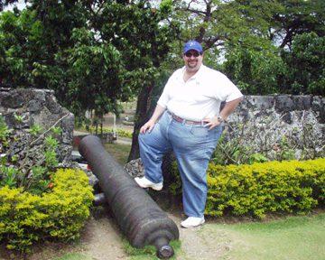 Fort San Pedro on Cebu Island in the Philippines