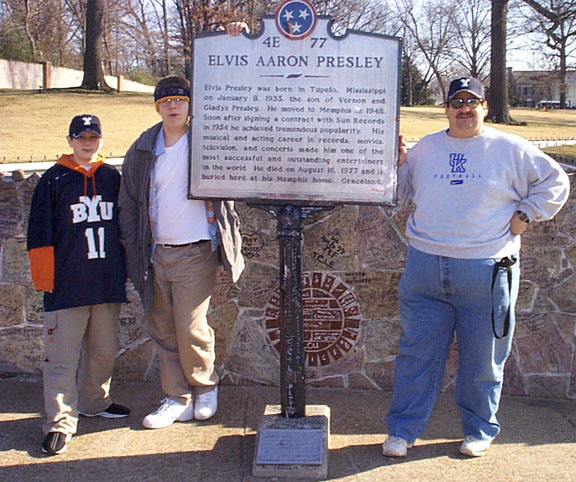 Then, there was the visit to Graceland, home of Elvis back a few years ago