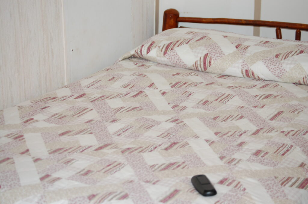 Typical Bed in the Wigwam