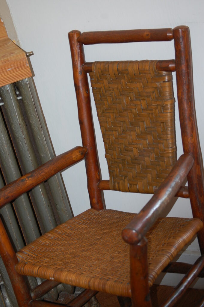 Wooden Furniture in the rooms