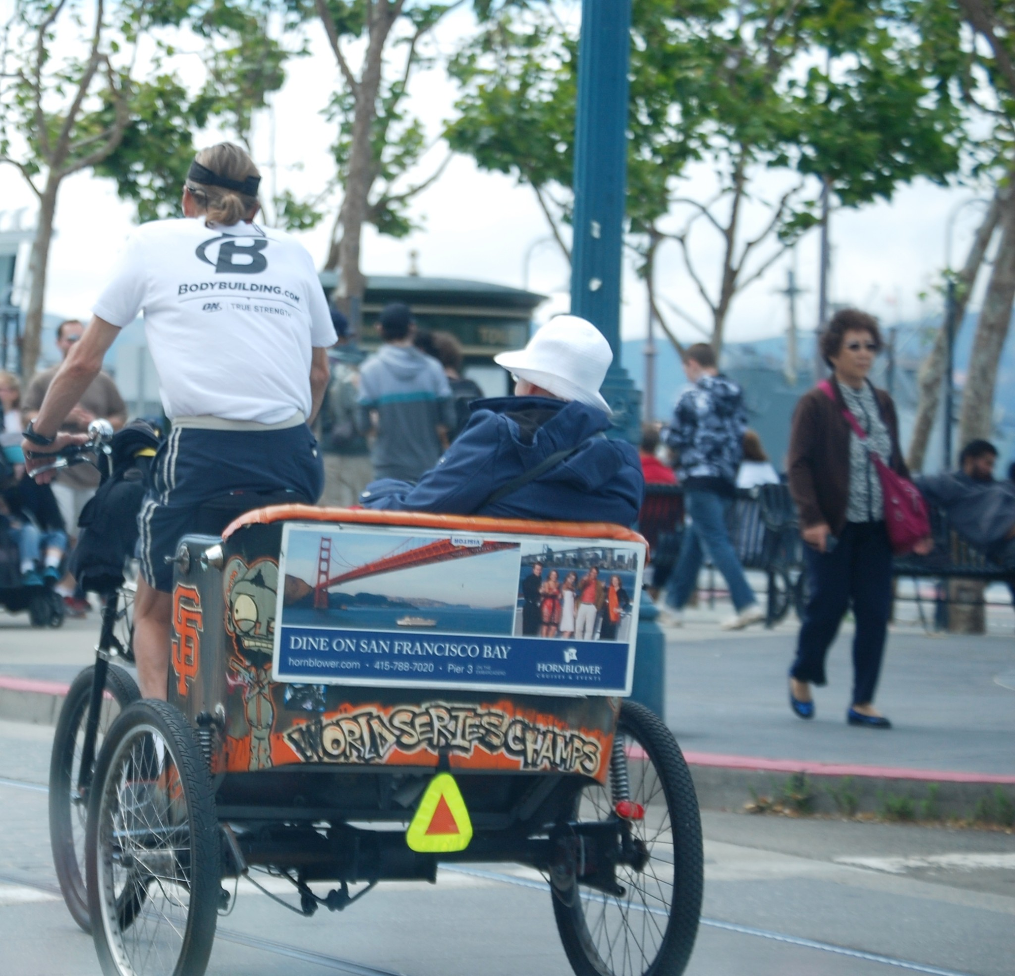 Bike Rickshaws in Fisherman's Wharf