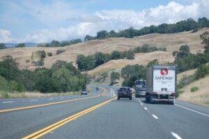 US Highway 101 heading north into Mendocino County