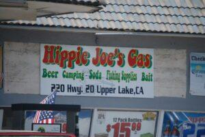 Hippie Joe's Gas in Upper Lake, CA