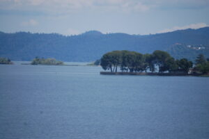 A view across Clear Lake, one of the oldest freshwater lakes in North America