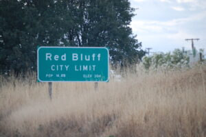 Welcome to Red Bluff, CA