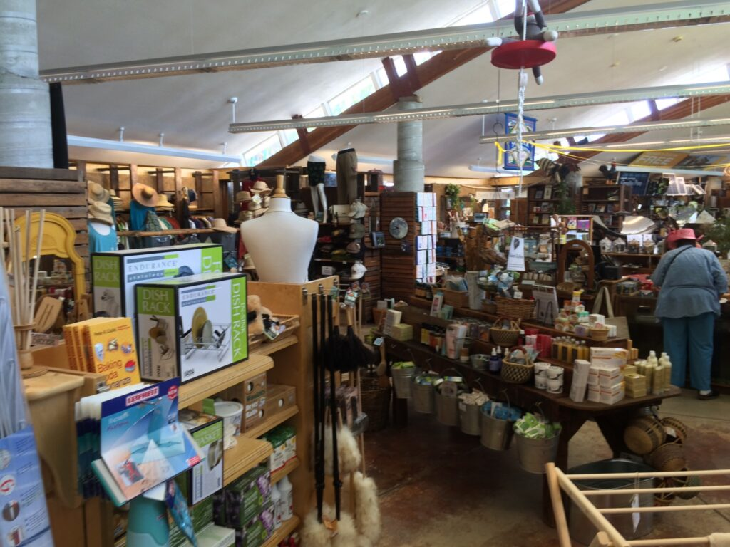 A view of the Real Goods Store