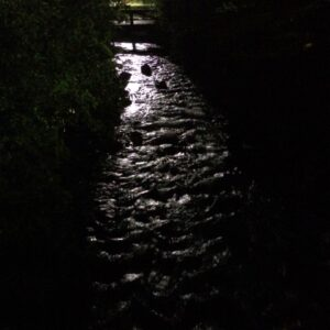 The pleasant stream flowing by Sundance