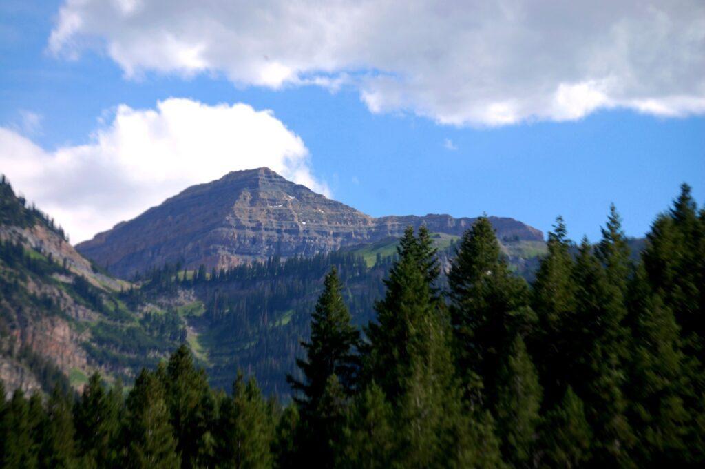 Mount Timpanogos in Provo Canyon, UT