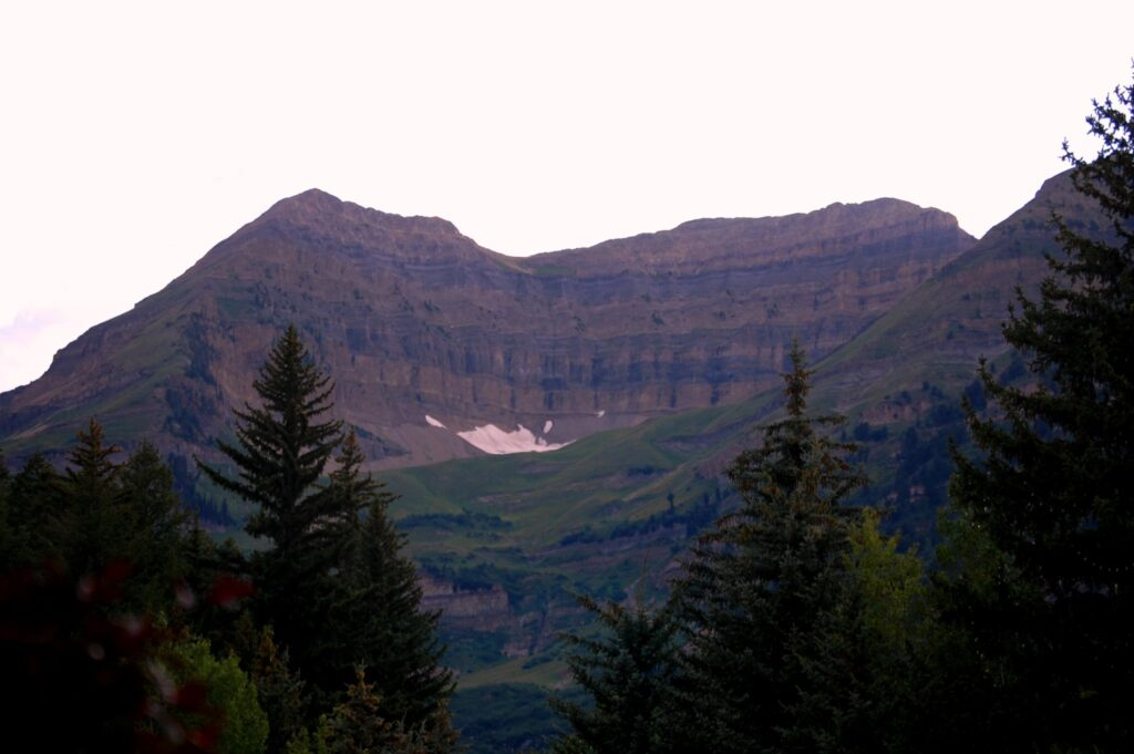 Another view of Mount Timpanogos