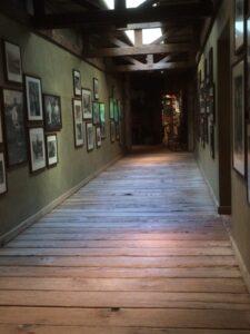 Wooden hallway in Sundance Resort