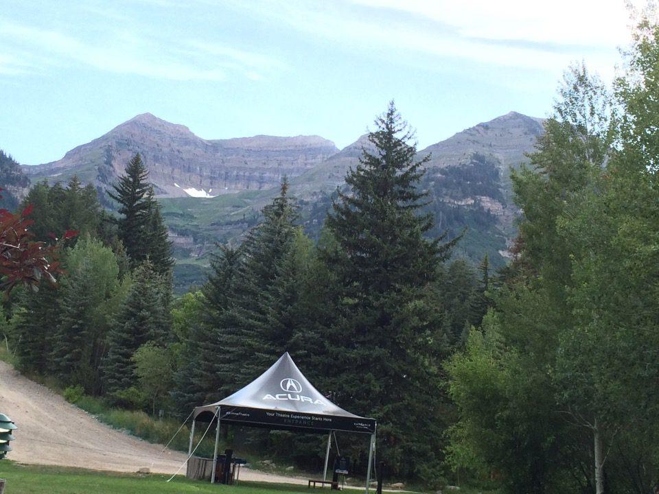 Mount Timpanogos as seen from Sundance Resort
