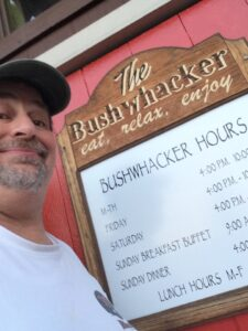 At the Bushwhacker in Port Angeles, WA