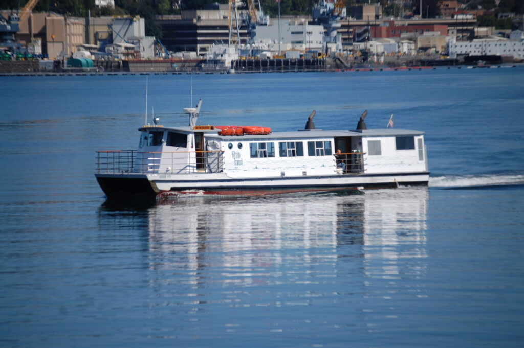 Kitsap Foot Ferry in Port Orchard