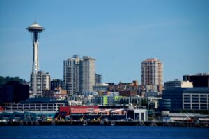 Seattle as seen from the Ferry