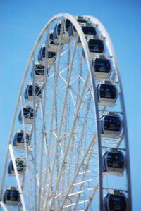 """Seattle's famed """"Great Wheel"""""""