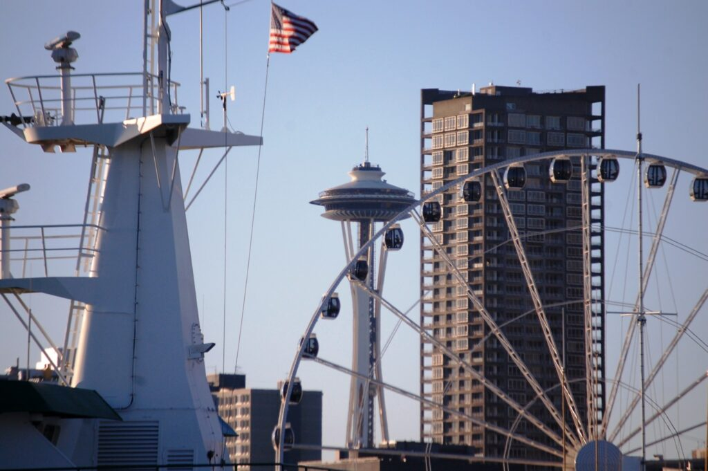 A unique view of the Seattle Waterfront