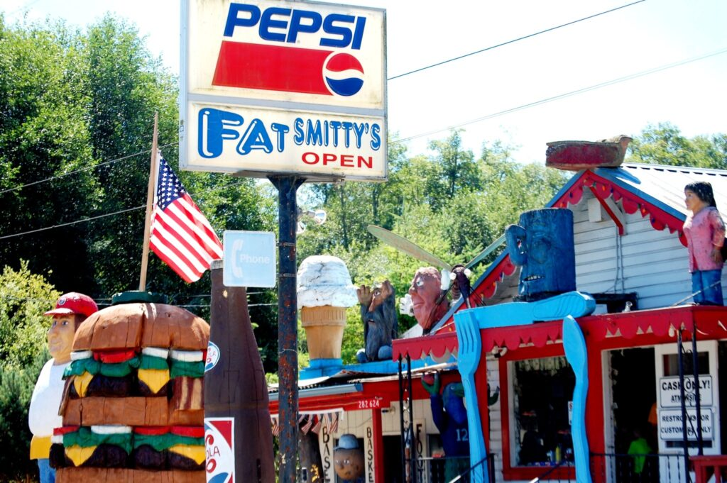Fat Smitty's, a burger joint near Port Townsend, WA.