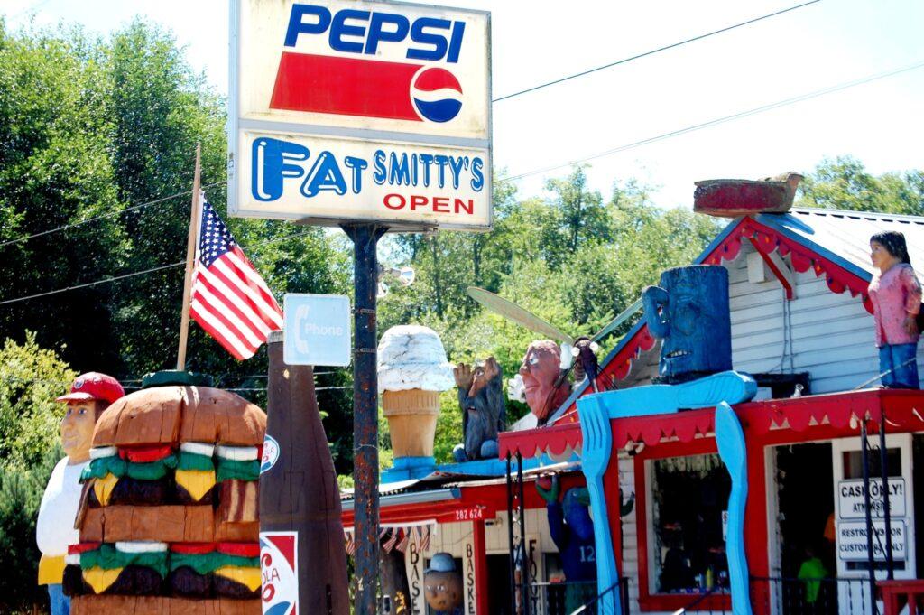 Fat Smitty's, a burger joint near Port Townsend, WA.
