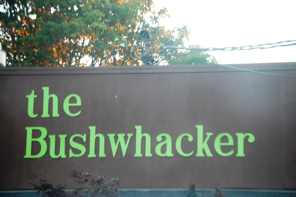 Dinner at the Bushwhacker in Port Angeles, WA