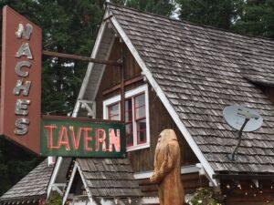 Naches Tavern in Greenwater, WA (featuring Bigfoot!)