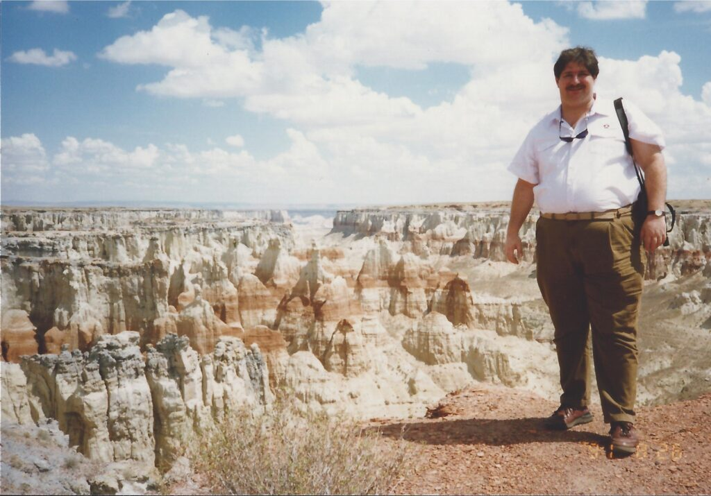 Coal Mine Canyon in North Arizona in 1990