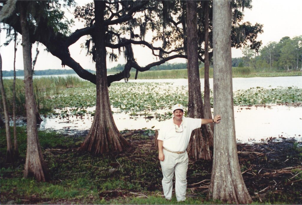 At the Everglade in Florida in 1990