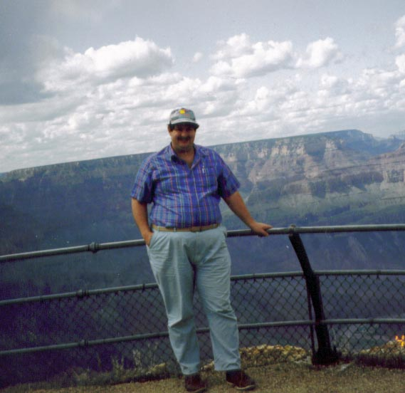 Visiting the Grand Canyon in 1983