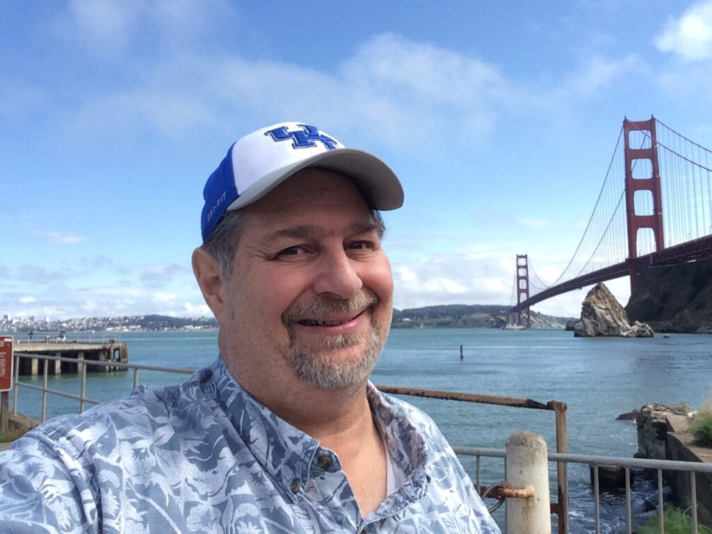 At Golden Gate Bridge in May 2015