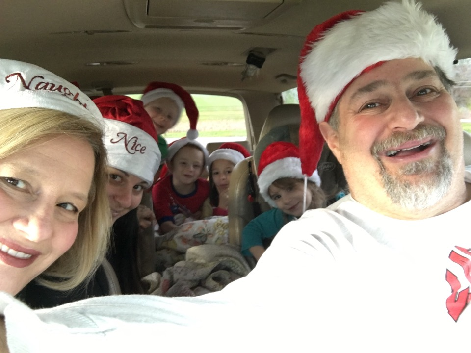 Family off to visit Santa Claus (Indiana, that is)