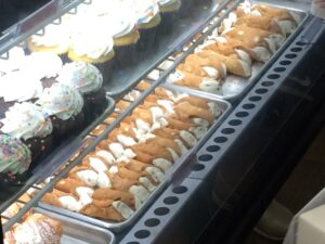Famed Cannoli at Carlo's Bake Shop in Hoboken