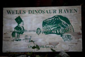 Wells Dinosaur Haven in Uncasville, CT
